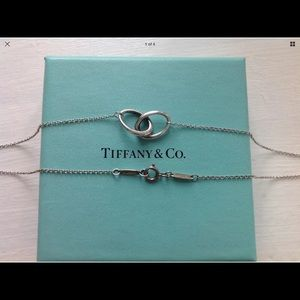 TIFFANY AND COMPANY VINTAGE SILVER RING NECKLACE